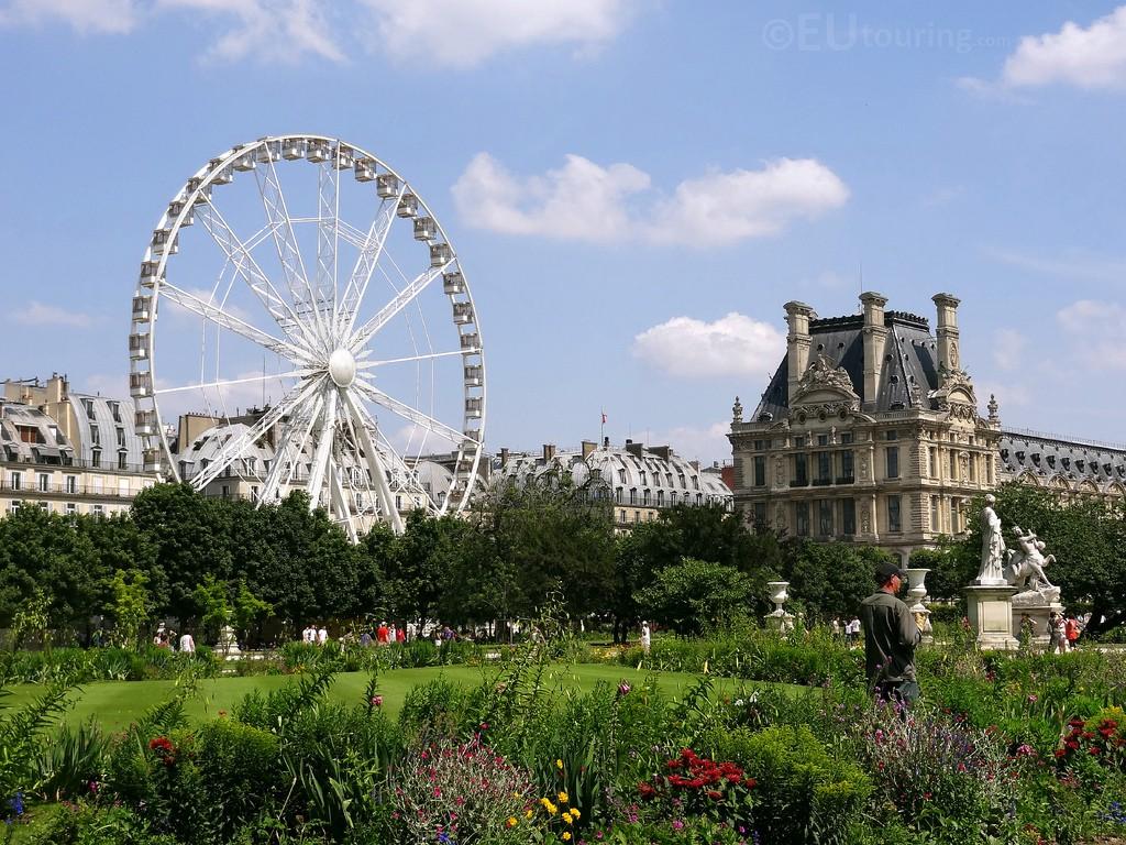 Beautiful Tuileries Gardens
